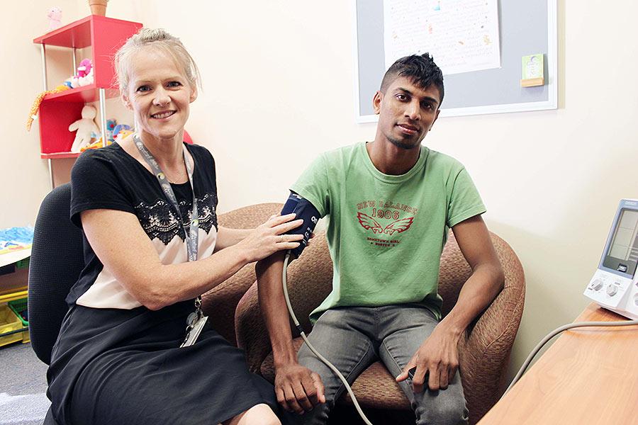 Migrant health nurse