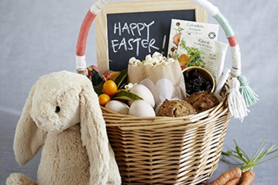 Natural Easter basket