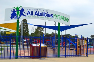Image of East Gippsland All Abilities Playground