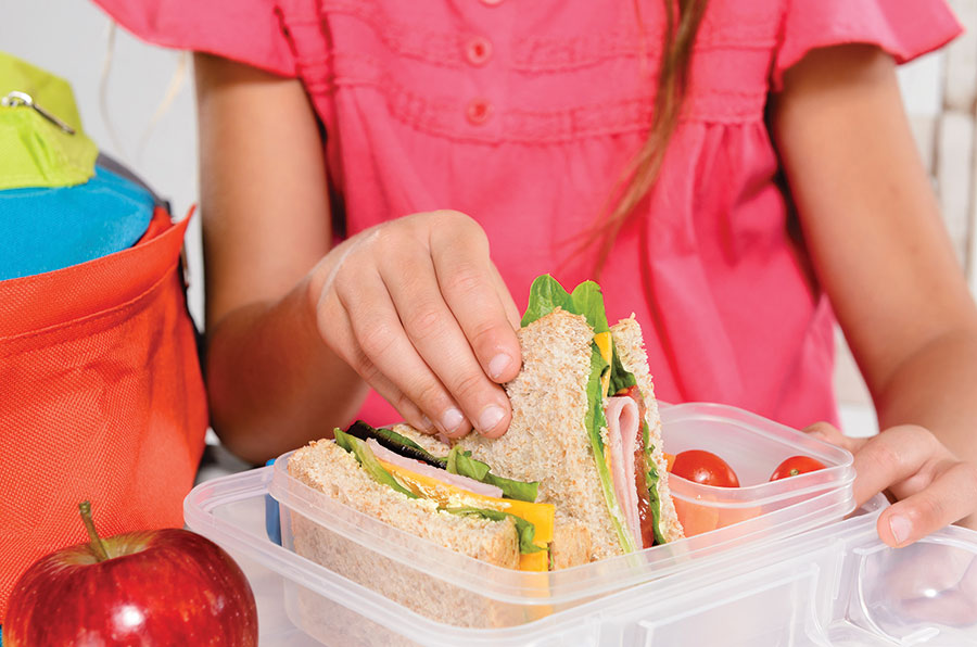 How to get children eating healthy school lunches