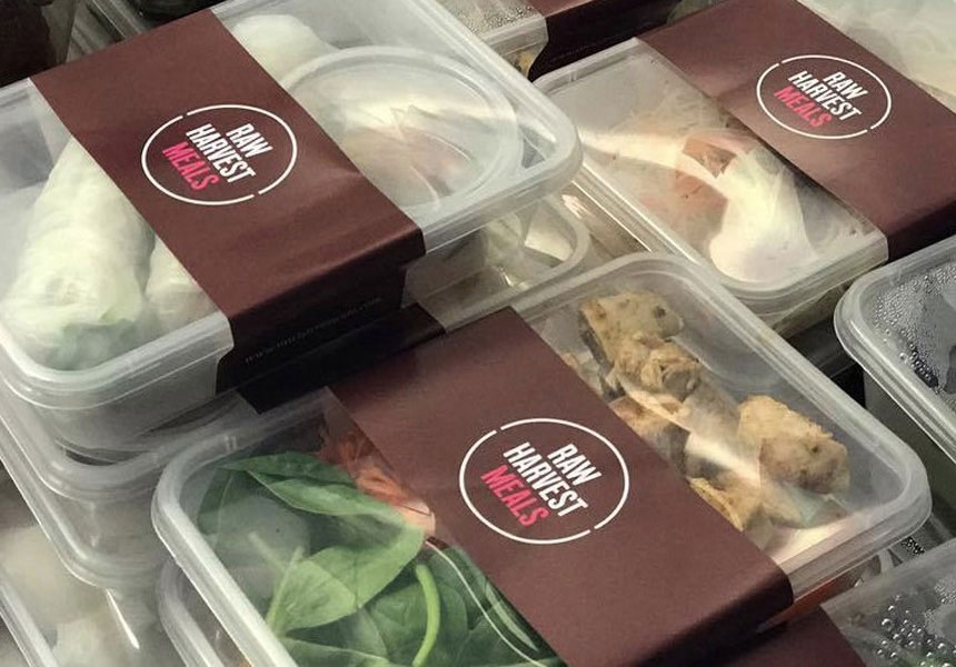 Image of Raw Harvest take away packaged meals