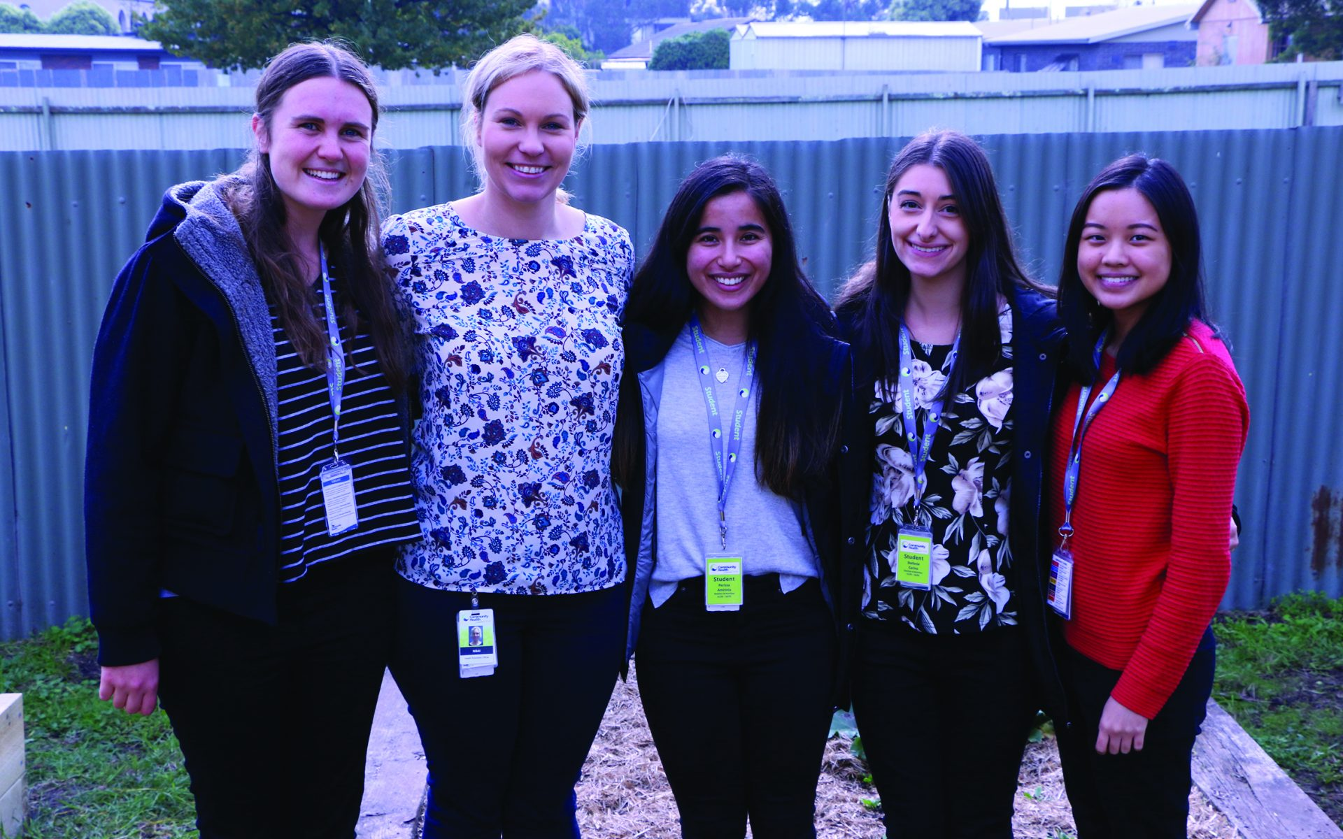 Monash Bachelor of Nutrition and Dietetic Students and Nikki Visser from LCHS