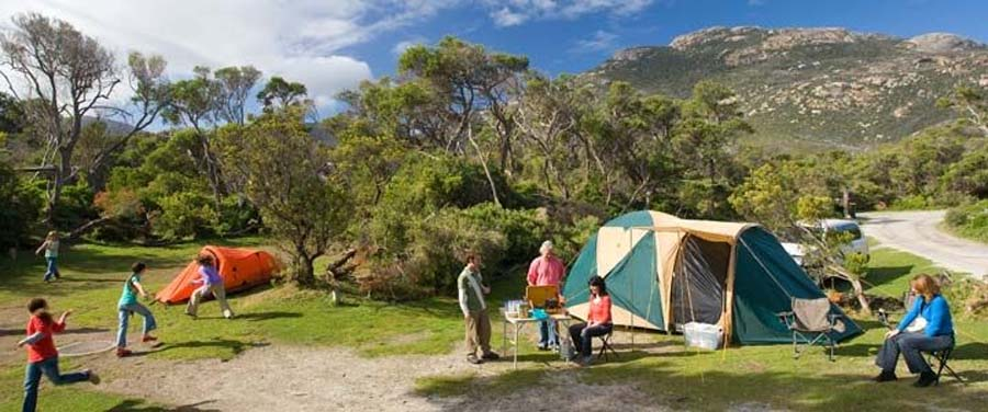 Image of Tidal River campground