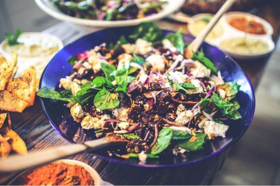 Yummy looking salad bowl
